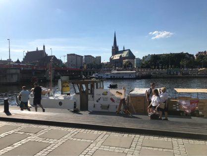Dopłynęliśmy do portu....w Szczecinie!